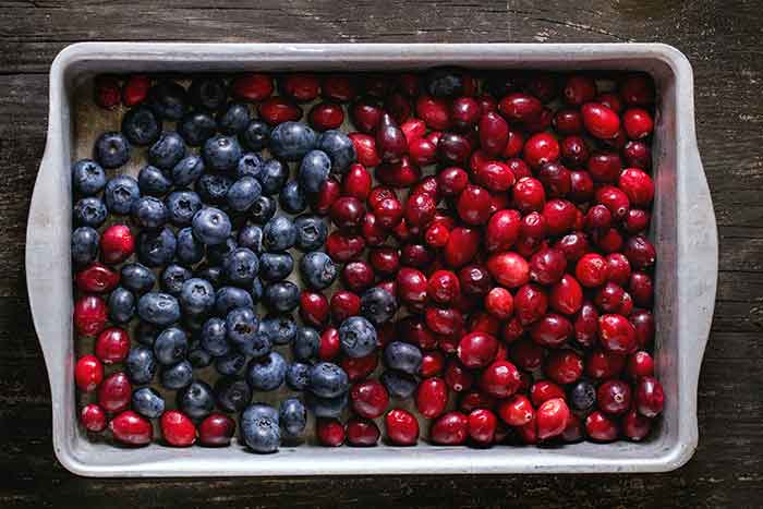 diferencia entre arandano rojo y arandano azul