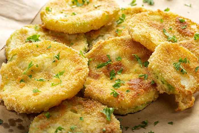como hacer calabacin frito