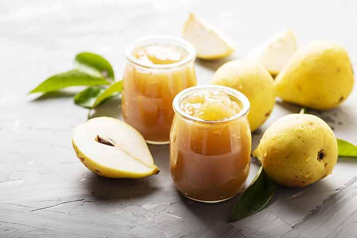 receta de compota de pera por nutricienta