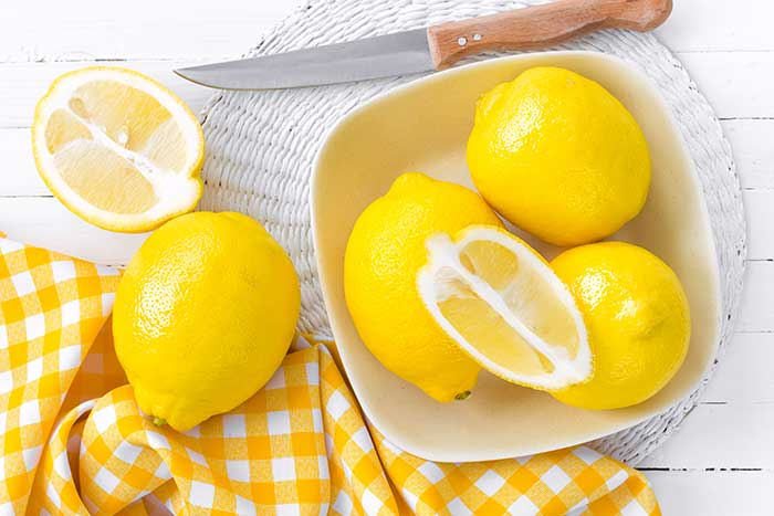 tipos de limones, sus propiedades nutricionales