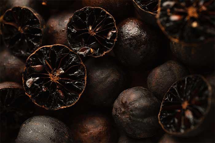 el limon negro, sus propiedades nutricionales