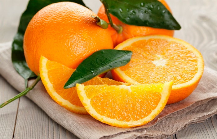 beneficios e informacion nutricional de las naranjas