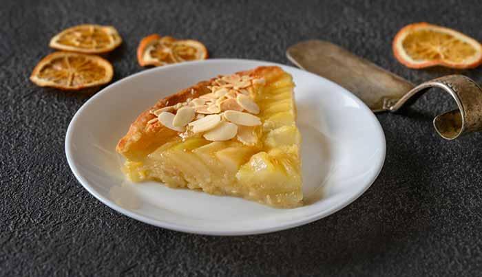 receta de tarta de pera por nutricienta