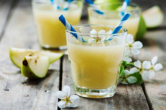 receta de jugo de pera por nutricienta