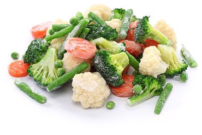 Imagen de alimentos congelados