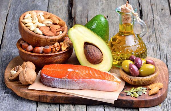 Tipos de grasas: monoinsaturadas (omega 9)