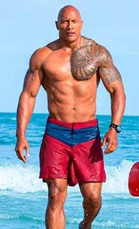 Dwayne Johnson (The Rock) gordo