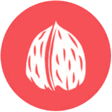 icono del alergeno de los frutos con cascara