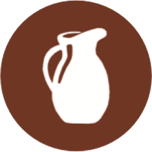 icono del alergeno de la leche y derivados
