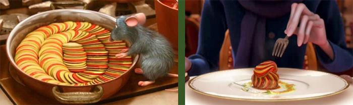 Receta de ratatouille de Disney por Nutricienta