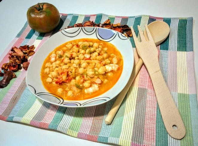 Garbanzos mar y tierra