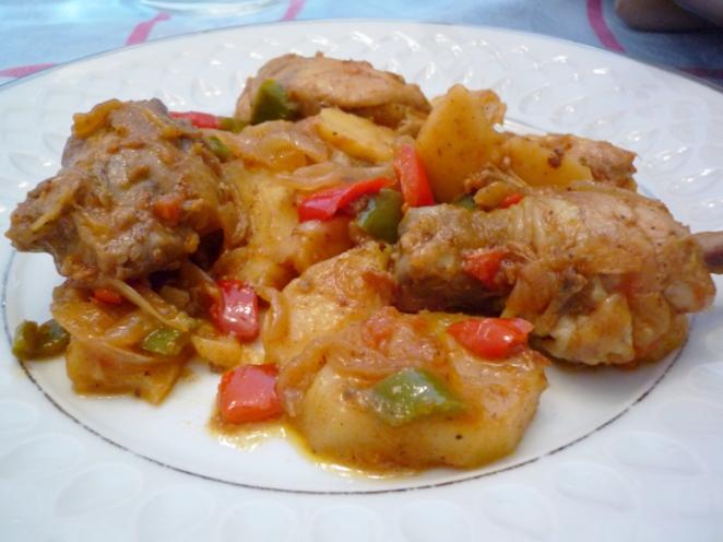 Pollo Al Chilindrón Por Helena Con Sus Propiedades Nutricionales