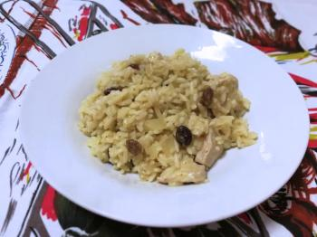 Risotto con coco y curry (por Helena)