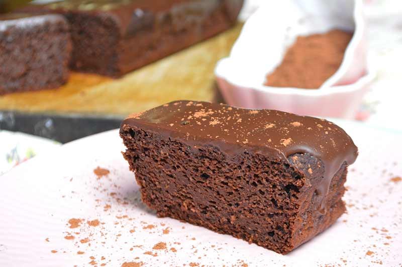 receta de bizcocho de calabacin y chocolate