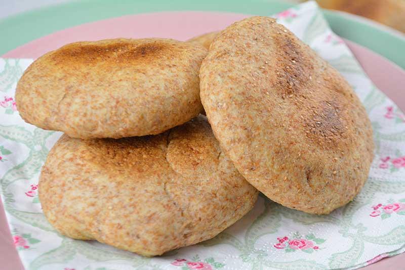 bollitos de pan integral sin horno 2