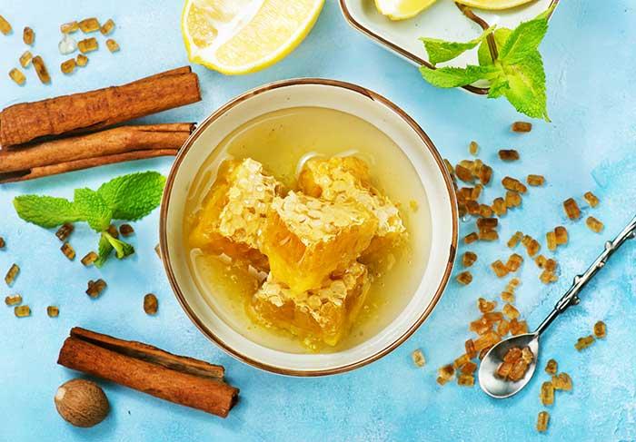miel y canela para la tos