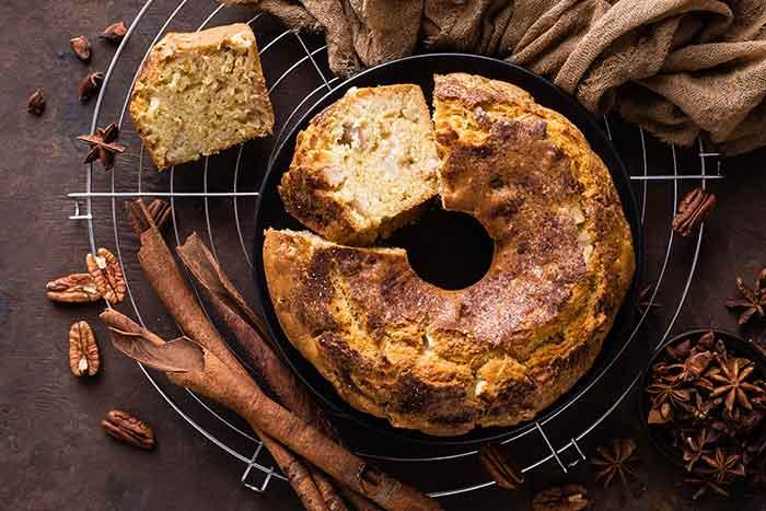 receta bizcocho de canela o cinnamon rolls