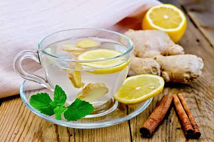receta de te con canela y limon