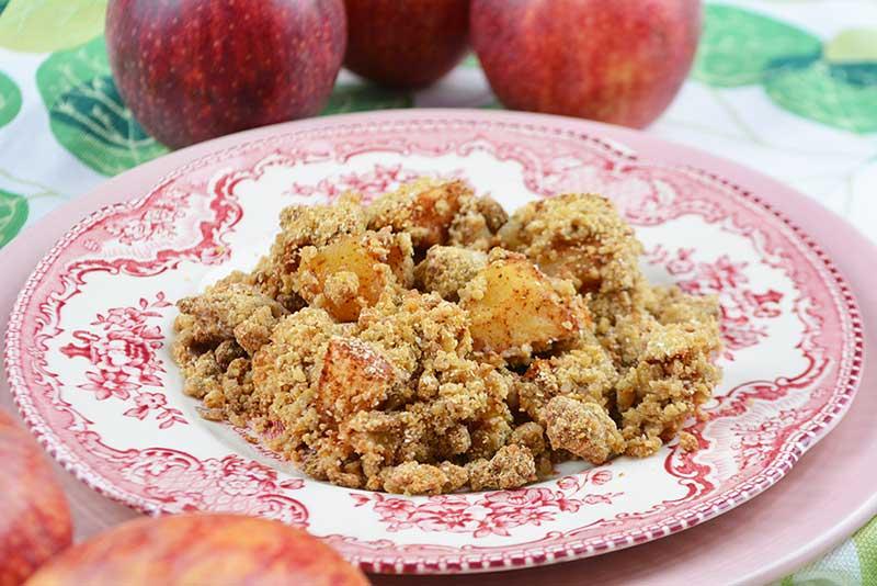receta de apple crumble o crumble de manzana 1