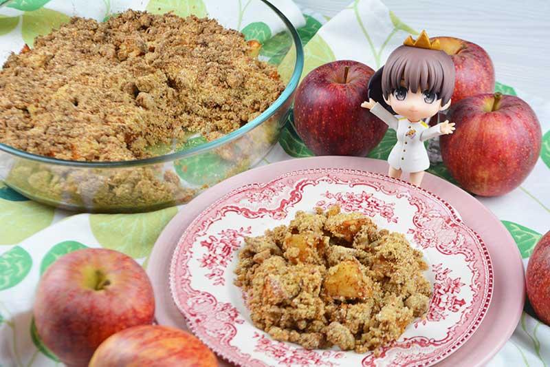 receta de apple crumble o crumble de manzana 2