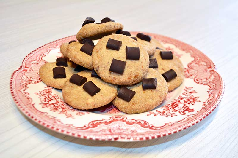 receta de galletas de avena al microondas
