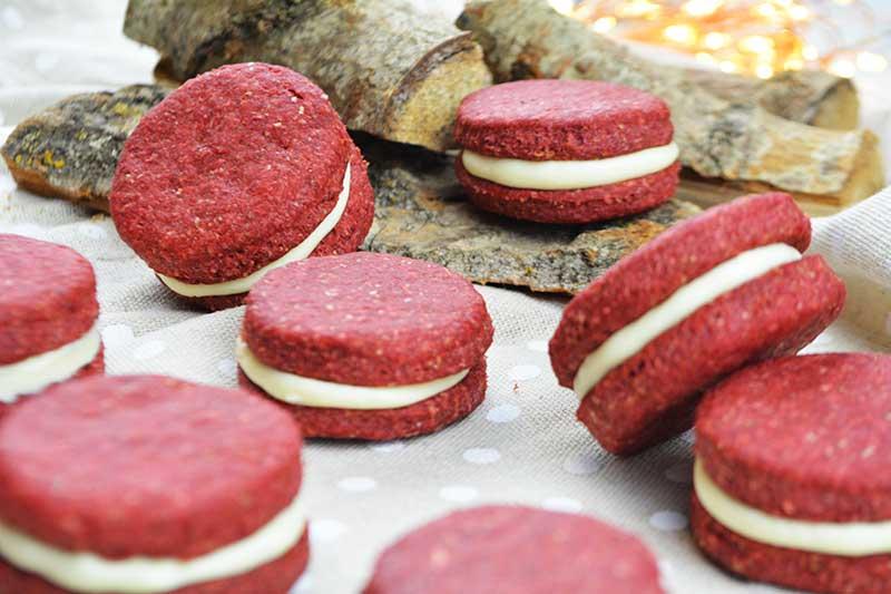 deliciosas y saludables galletas red velvet sin azucar 1