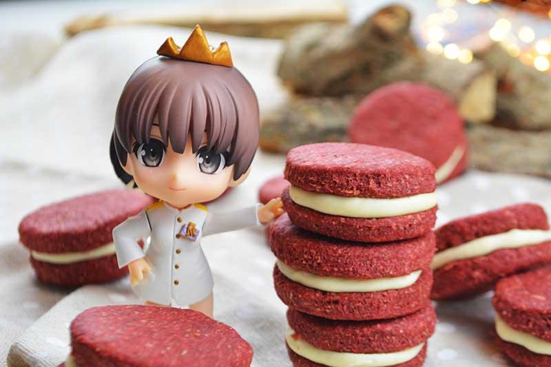 deliciosas y saludables galletas red velvet sin azucar 2