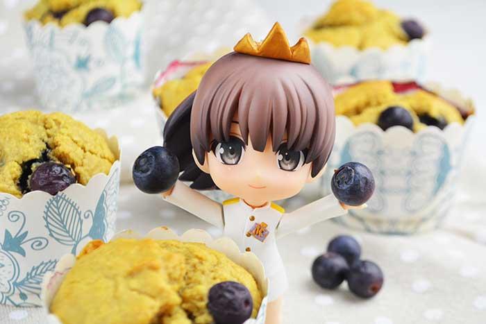 receta de muffins de arandanos saludables sin azucar 2