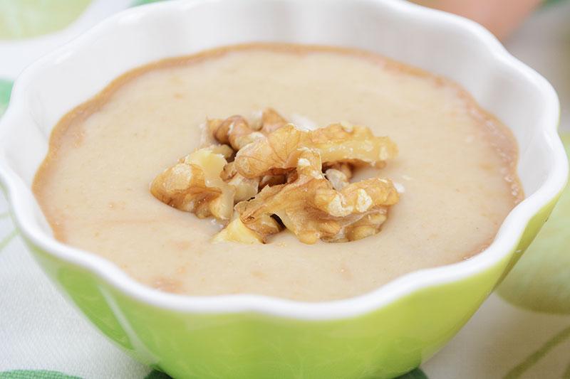 Deliciosas, sanas y f?ciles natillas de pl?tano por Nutricienta