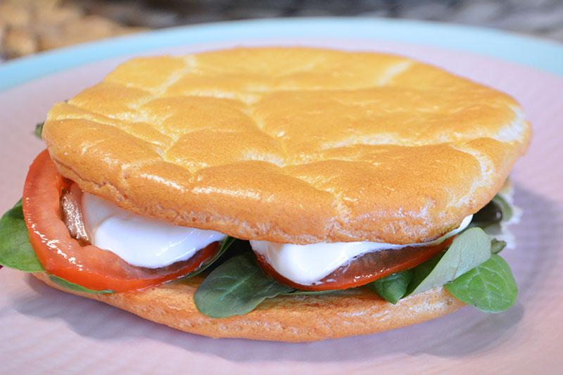 Pan ligero, sin harina y sin glute. Una receta muy f?cil y r?pida para hacer pan things por nutricienta