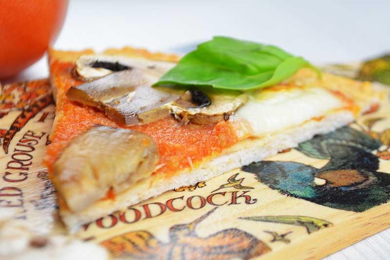 receta de pizza saludable con base de pollo y sin harina ni gluten 1