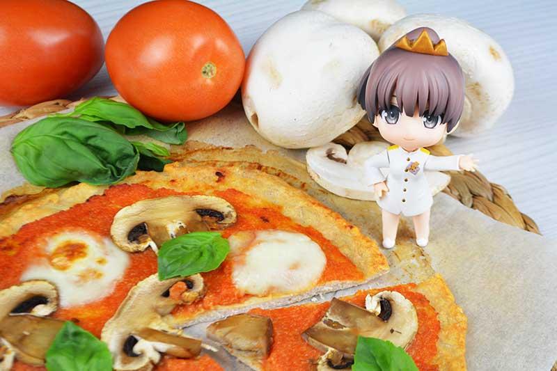 receta de pizza saludable con base de pollo y sin harina ni gluten 2