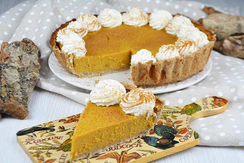receta de pumpkin pie sin azucar 1