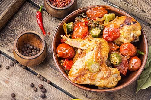 receta de rustidera de pollo
