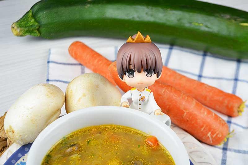 receta de sopa de verdura y garbanzos 2
